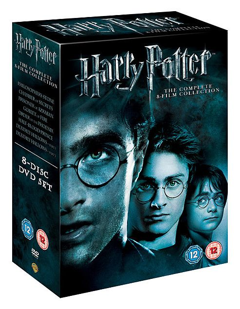 Harry Potter - The Complete 8-Film Collection (DVD Boxset)