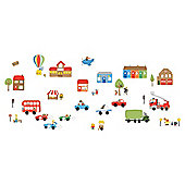 FunToSee Transport Wall Stickers
