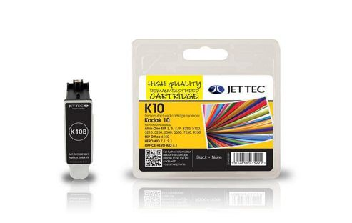 Kodak 10B Black Compatible Ink Cartridge by JetTec - K10B