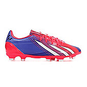 adidas Messi F10 TRX FG Firm Ground Mens Football Boot Purple - Purple