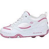 Heelys Fizz White/Pink Kids Heely Shoe - White