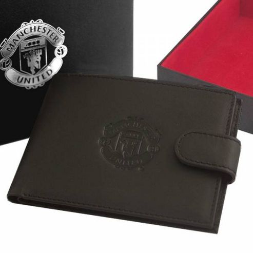 Manchester United FC Leather Wallet