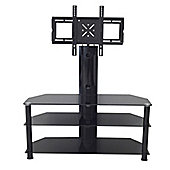 MMT CB60 Black Swivel Cantilever TV Stand