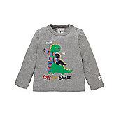 Mothercare Baby Newborn Boy's Love You Daddy Dinosaur T-Shirt Size 3-6 months