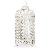 Birdcage Table Lamp in Cream
