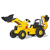 New Holland Construction B110C Tractor With Frontloader & Rear Excavator