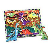 Melissa Doug Chunky Puzzle Dinosaurs