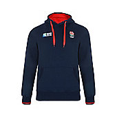 England Rugby Supporter Hoody - Blue
