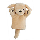 The Puppet Company CarPets- Yellow Labrador Glove Puppet