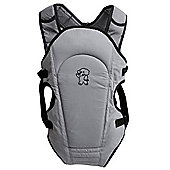 Tippitoes 2 Way Front Baby Carrier (Grey)