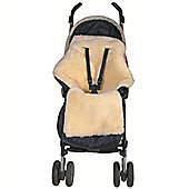 Safetots Lambskin Stroller Footmuff with Detachable Front