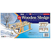Coyote Wooden Sledge Folding 80cm Boxed