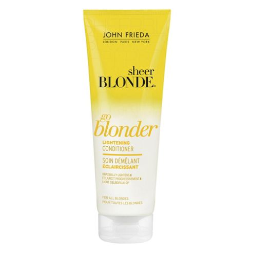 John Frieda Sheer Blonde Go Blonder Lightening Conditioner 250ml