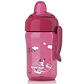 AVENT Spout Trainer Cup 340ml/12oz 18m+ (Pink)
