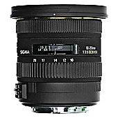 Sigma 202954 10-20mm F/3.5 EX DC HSM Digital Camera Lens - Canon EOS Fit
