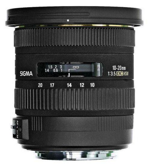 Sigma 202954 10-20mm F/3.5 EX DC HSM Digital Camera Lens - Canon EOS Fit