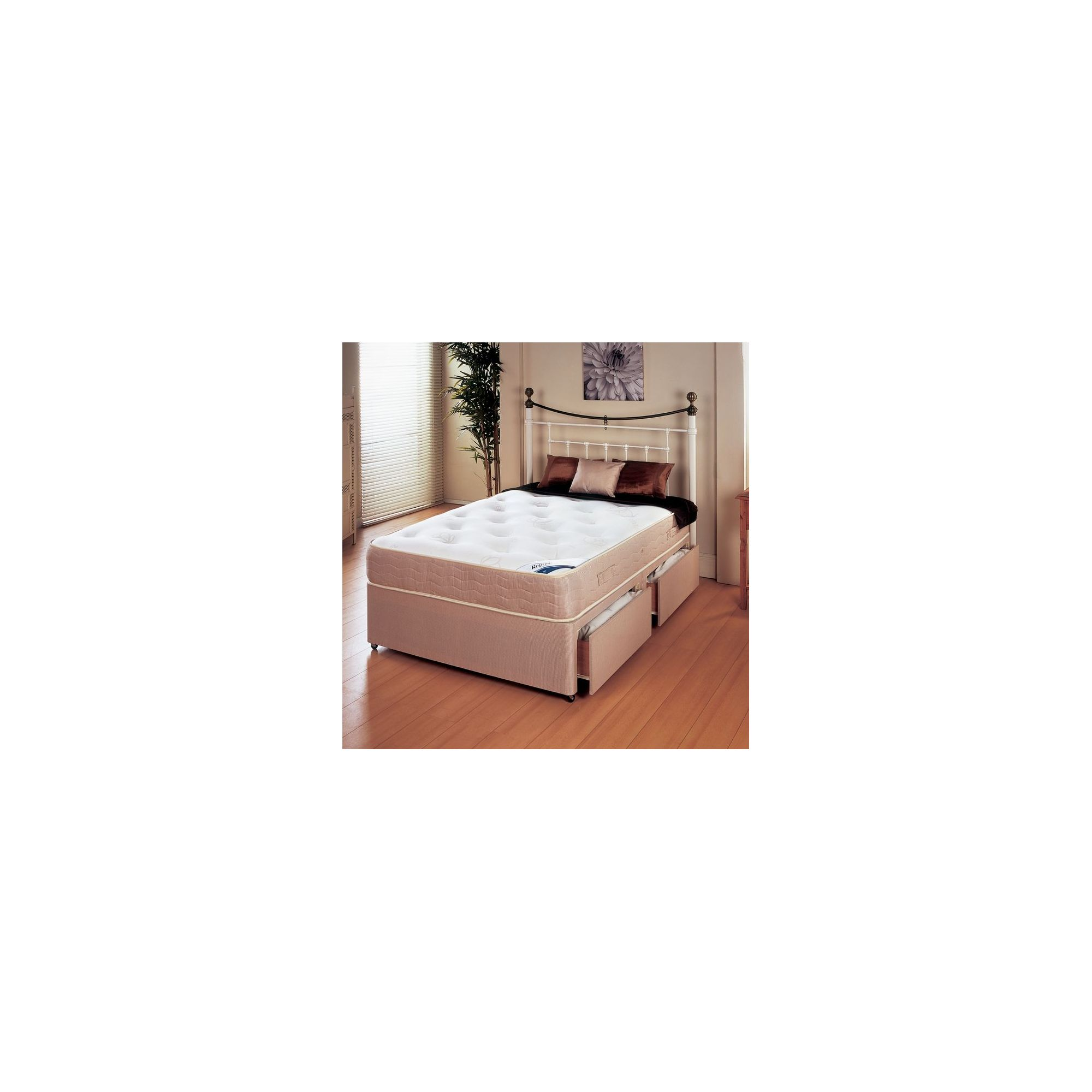 Repose New Princess 1000 Platform Set - Small Single/Single / 0 Drawer at Tesco Direct