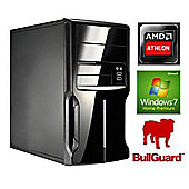 Spire PC Micro ATX AMD Athlon Quad 5150 (1.60GHz) 4GB RAM 500GB HDD