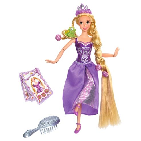 Disney Princess Tangled Pose & Style Rapunzel Doll