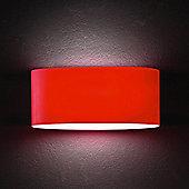 Leucos Vittoria Wall Light - Amber Satin / 150W Halogen E27 R7S - 78mm