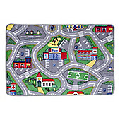 Dandy City Roads Kids Rectangular Rug - 133cm x 95cm