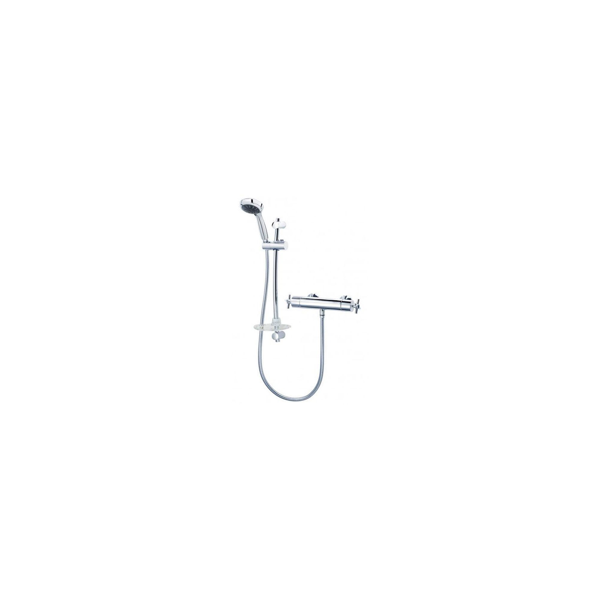 Triton Mersey Thermostatic Bar Mixer Chrome at Tesco Direct