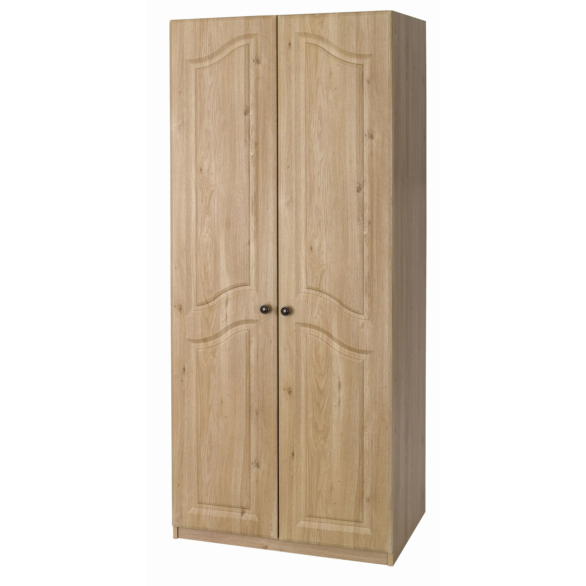 Alto Furniture Visualise Bordeaux Robe in Oak at Tesco Direct