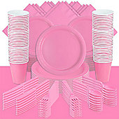 New Baby Pink Party Pack For 100
