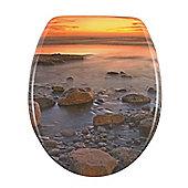 Wenko Stone Shore Toilet Seat