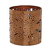 Linea Copper Tea Light Holder, Small