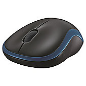 Logitech M185 Wireless Optica Mouse - Blue