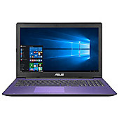 "Asus X553 15.6"" Intel Pentium 4GB RAM 1TB HDD Laptop Purple"