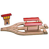 3 Way Station For Wooden Railway Train Set 50947 - Brio Bigjigs Compatible