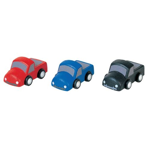 Plan Toys Mini Trucks Wooden Toy Set
