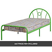 ValuFurniture Nova 3 0 inch Single Bed in Green