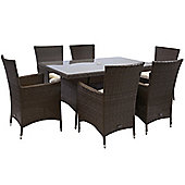 Bentley Garden 6 Seater Dining Set