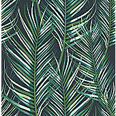 Superfresco Easy Paste the Wall Palm Leaf Green Wallpaper
