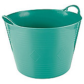 Tesco 42L Flexi Tub Aquamarine