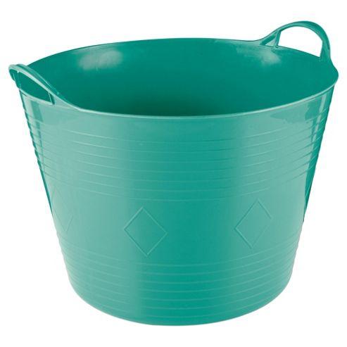 Tesco 42L Flexi Tub Aquamarine