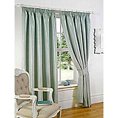 Sicily Ready Made Lined Curtains - Blue