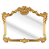 D & J Simons Roccoco Mirror - Gold