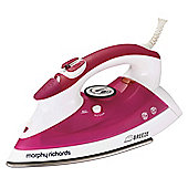 Morphy Richards 300201 Stainless Steel Plate Steam Iron - Pink
