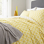 Morocco Citrine Double Duvet Set