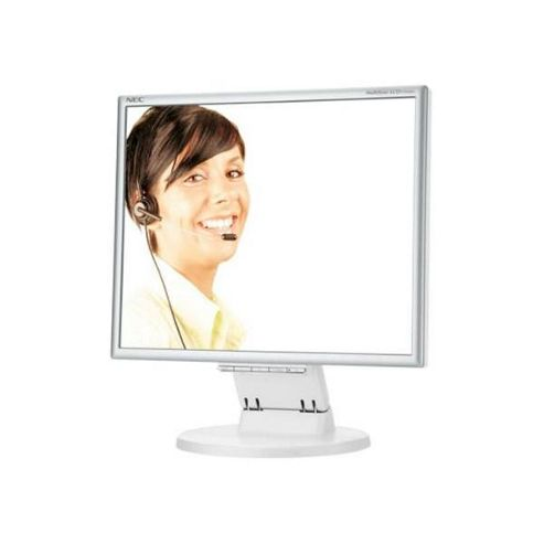 NEC Displays MultiSync LCD175M 17 inch TFT LCD Monitor 1000:1 250 cd/m? 1280 x 1024 5ms D-SUB/DVI-D (Silver/White)