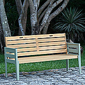 Norfolk Leisure Florenity Timber Bench - 85 cm H x 152 cm W x 62 cm D
