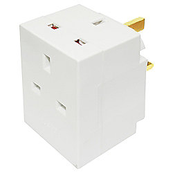 Tesco 3 Way Adaptor
