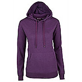 Redwing Womens Pullover Walking Hiking Front Pocket Jumper Sweater Top Hoodie - Purple