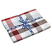 Jamie Oliver tablecloth red stripe