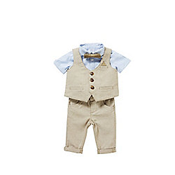 F&F Signature 4 Piece Suit Set 12 - 18 months Multi