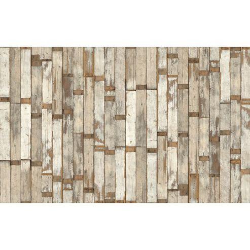 Piet Hein Eek Scrap Wood Wallpaper PHE-02 Scrapwood Wallpaper by Piet Hein Eek